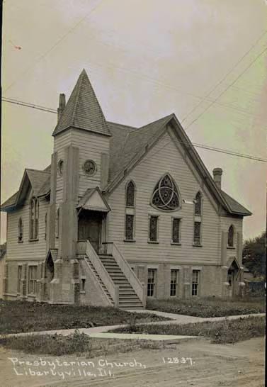 Presbyterian Church, Libertyville, Ill. (Early view)
