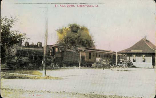 St. Paul Depot, Libertyville, IL