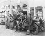 Fire Department, 1930 truck with men