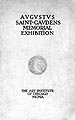 Catalogue of sculptured works of Augustus Saint-Gaudens : with biographical sketch ......