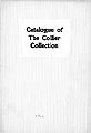 Catalogue of the Collier Collection of Original Drawings and Paintings by Distinguished American...