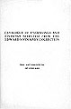 Catalogue of engravings and etchings from the E.S. Stickney collection : in the Print room, May...