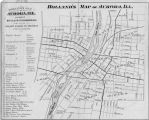 Holland's Map of Aurora, Illinois, 1880