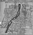Beacon Map of the City of Aurora, Illinois, 1887