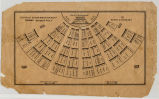 Diagram of the House of Representatives, Illinois, Springfield, 1844-5