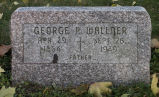 Gravestone of George P. Wallner