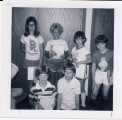 Photo of children participating in Cary Public Library Summer Reading Program 1982