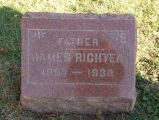 Gravestone of James Richter