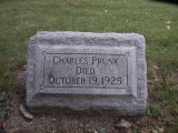 Gravestone of Charles Prunk