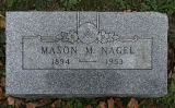 Gravestone of Mason M. Nagel