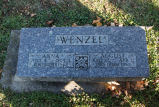 Gravestone of Anna & August Wenzel