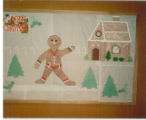 1987 Cary Public Library Christmas Holiday Display
