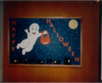 Cary Public Library 1988 Halloween Display