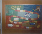 1987 Cary Public Library Quest Journey Into Reading Display_1