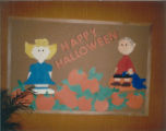 Cary Public Library 1985 Halloween Display