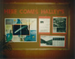 Cary Public Library 1985 Halley's Comet Display_1