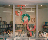 Cary Public Library 1984 Christmas Display