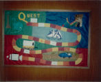1987 Cary Public Library Quest Journey Into Reading Display_2