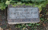 Gravestone of Infant Daughter of Robert & Hallie Dunn