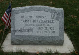 Gravestone of Harry Dinkelacker