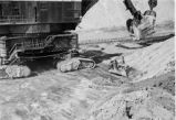 Mucker, strip mining equipment, view 3