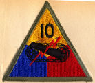 10th Armored Division patch