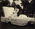 VFW Float honoring Coal City residents killed during World War II