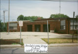 Schools: Our Lady of the Ridge Parish School, entrance, 1992