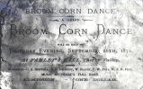 Broom Corn Dance invitation