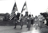 Girl Scouts on parade
