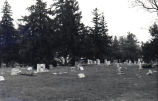Cemetery in Cherry Valley, Illinois, 1976