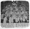 Cherry Valley Illinois Little League Team around 1956