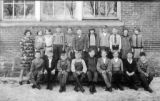 Cherry Valley, Illinois school photograph from around 1930