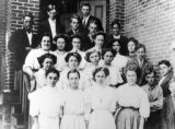 Cherry Valley, Illinois High School students, September 1909.