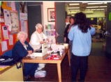 Book Sale at the Eisenhower Library, April 27, 2001