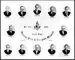 Zurich Lodge No. 1089, Ancient Free & Accepted Masons - Officers