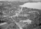 Aerial View - Downtown Lake Zurich