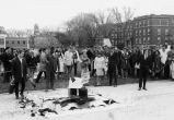 Student napalm demonstration