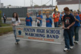 Marching Band in Homecoming Parade October 2008