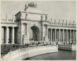 Peristyle and Water Gate, from Grand Basin