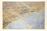 Birds Eye View of World's Columbian Exposition Grounds