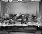 Different view Caribbean Coral Reef and Atlantic Fishes models