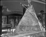 Buckskin Tipi on exhibit display