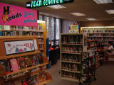 Teen corner at Glenview Public Library