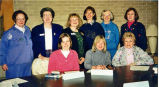 Monday night book discussion group at Glenview Public Library