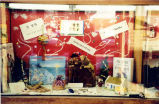 Holiday display at Glenview Public Library