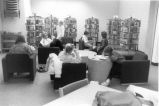 Readers at Glenview Public Library