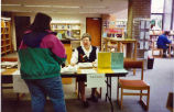 Tax forms desk at Glenview Public Library
