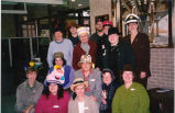National Library Week hat day at Glenview Public Library