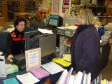 Youth services desk, Glenview Public Library